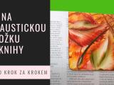 Záložka do knihy malovaná horkým voskem - enkaustika