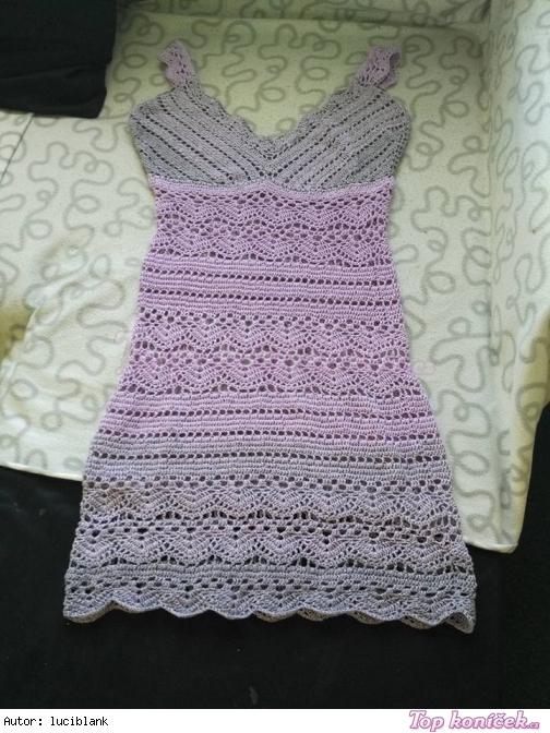 518e501a59ce Háčkované šaty - Háčkování - Ruční práce