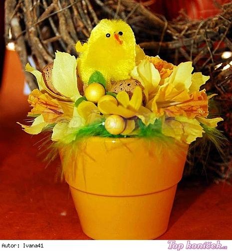 Velikonoční květináče