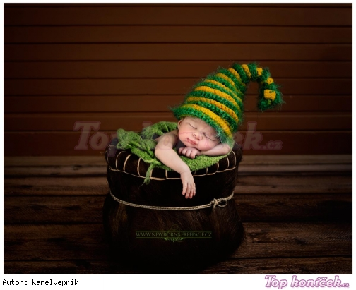 newborn čepice