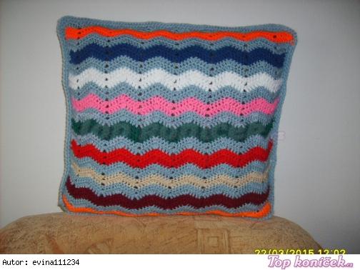 chtařský barevný polštářek