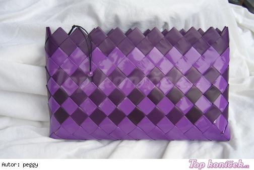 papírová kabelka