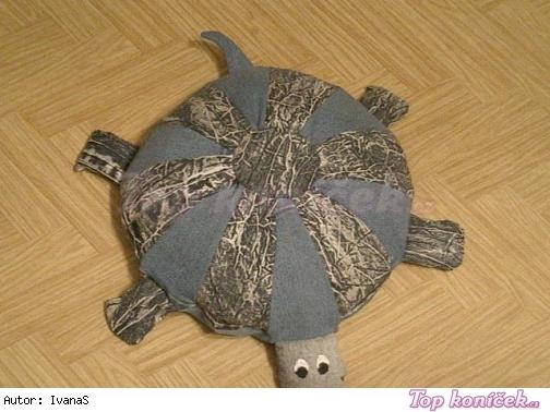 Polštářek želva