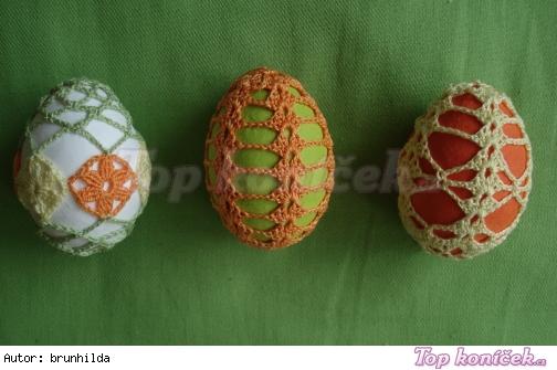 vajíčka barevná