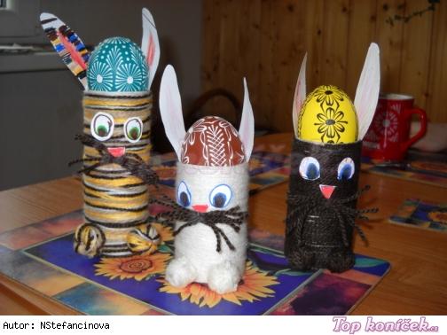 velikonoční dekorace, práce s dětmi