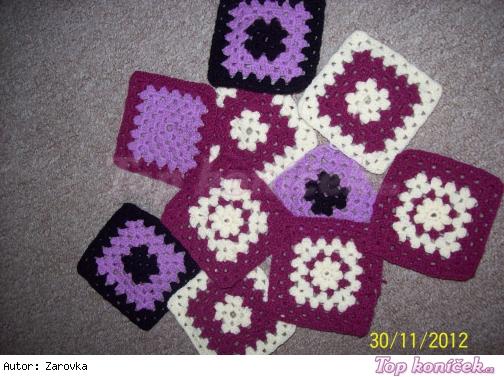 Čtverečky - na deku či na polštářek