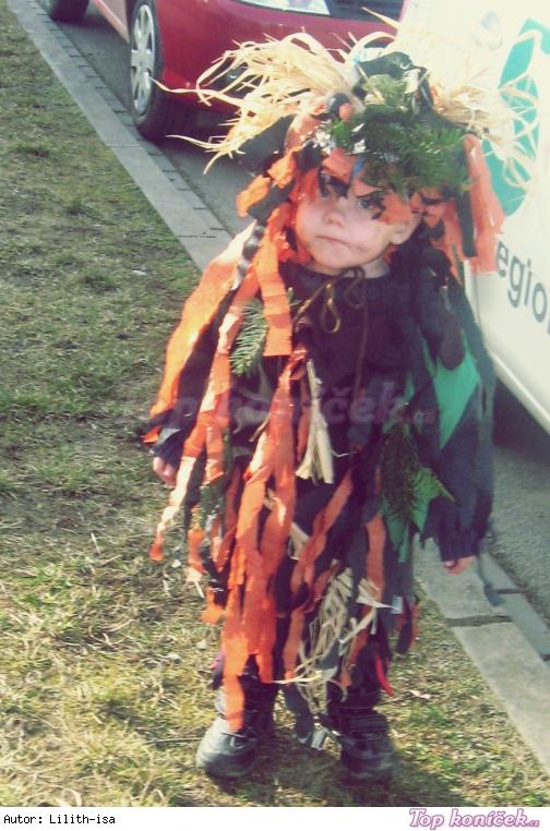 Bubáček- dětský kostým