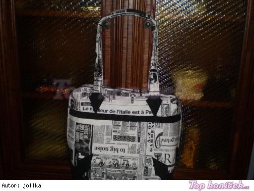 Novinová kabelka