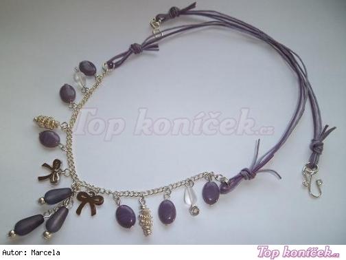 Fialové kapky