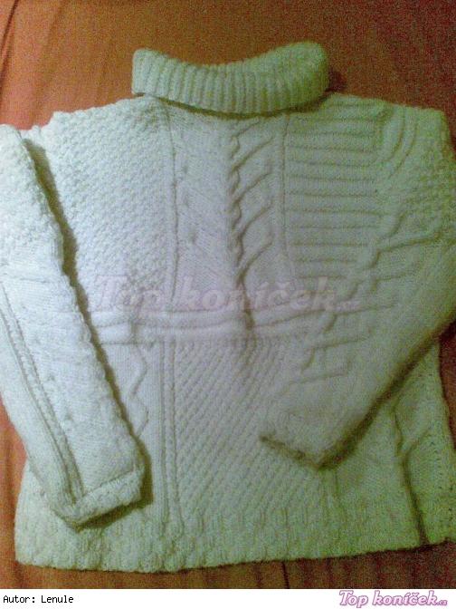 zimní svetr