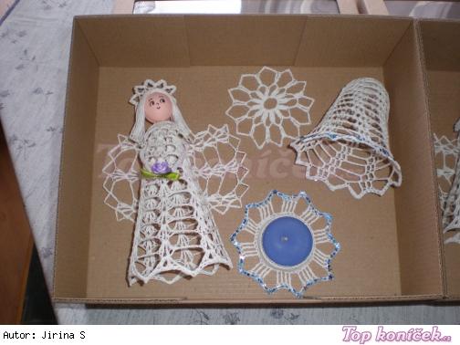 Vánoční dekorativní set