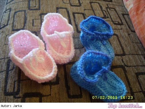 háčkované bačkůrky