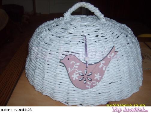 pletený poklop