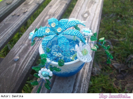 Korálkové květiny