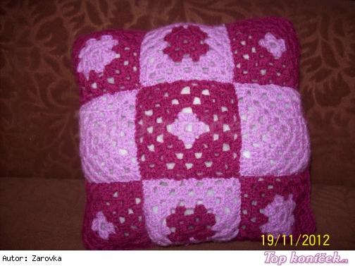 Granny square polštářek