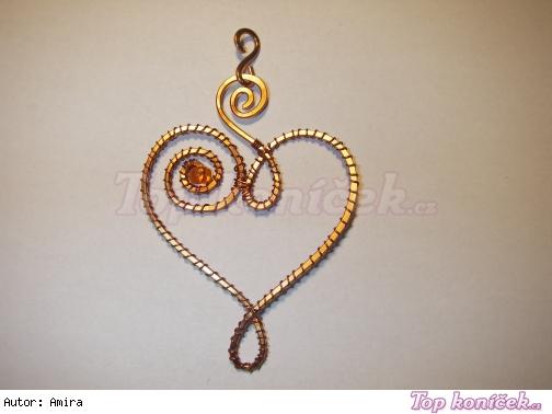 Drátované šperky z rozklepávaného drátu