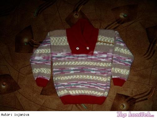 Další pletené svetry ze samovzorovací příze