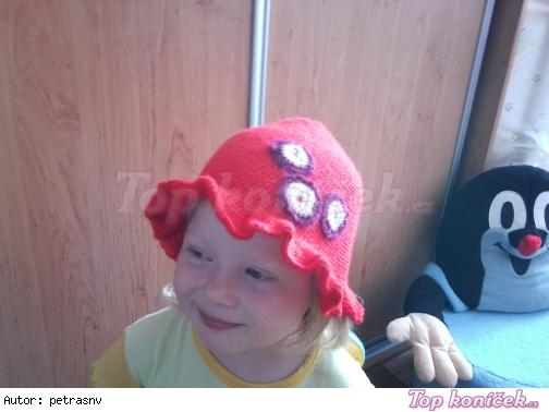 klobúčik červený