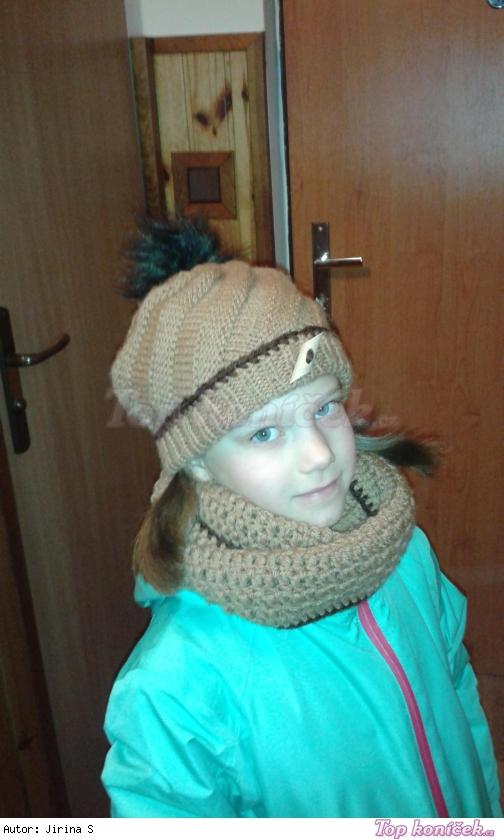 Zimní set pro vnučku