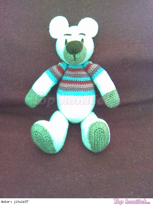 Medvídek v tričku